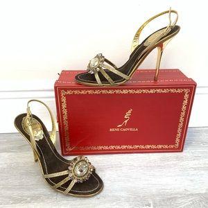 "NIB RENE CAOVILLA ""Mekong"" heels"